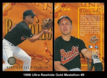 1996 Ultra Rawhide Gold Medallion #9