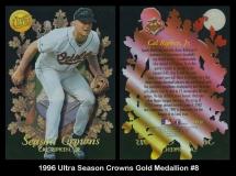 1996 Ultra Season Crowns Gold Medallion #8