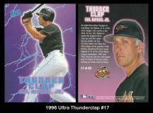 1996 Ultra Thunderclap #17