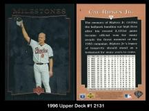 1996 Upper Deck #1 2131