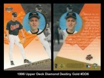 1996 Upper Deck Diamond Destiny Gold #DD6