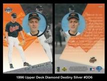 1996 Upper Deck Diamond Destiny Silver #DD6