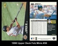 1996 Upper Deck Folz Minis #36