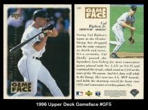 1996 Upper Deck Gameface #GF5