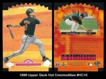 1996 Upper Deck Hot Commodities #HC15