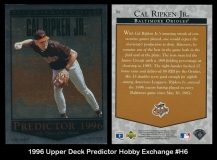 1996 Upper Deck Predictor Hobby Exchange #H6