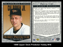 1996 Upper Deck Predictor Hobby #H6