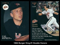 1994 Burger King #1 Double Honors