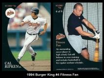 1994 Burger King #4 Fitness Fan