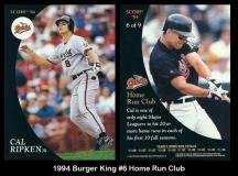 1994 Burger King #6 Home Run Club
