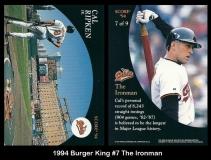 1994 Burger King #7 The Ironman