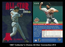 1997 Collectors Choice All-Star Connection #13