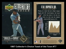 1997 Collectors Choice Toast of the Town #T7