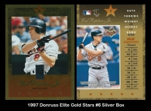 1997 Donruss Elite Gold Stars #6 Silver Box