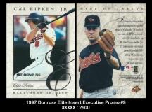1997 Donruss Elite Insert Executive Promo #9