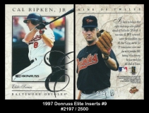 1997 Donruss Elite Inserts #9