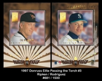 1997 Donruss Elite Passing the Torch #3