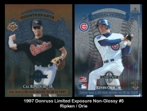 1997 Donruss Limited Exposure Non-Glossy #5