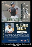 1997 Donruss Limited Fabric of the Game #43