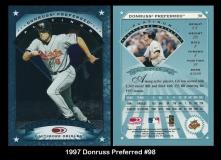 1997 Donruss Preferred #98