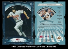 1997 Donruss Preferred Cut to the Chase #98