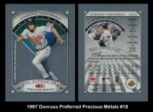 1997 Donruss Preferred Precious Metals #18