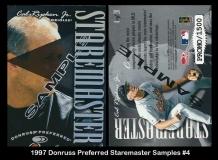 1997 Donruss Preferred Staremaster Samples #4