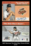 1997 Donruss The Only Way I Know #10AU