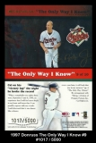 1997 Donruss The Only Way I know #9