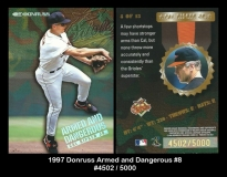 1997 Donruss Armed and Dangerous #8