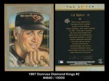 1997 Donruss Diamond Kings #2