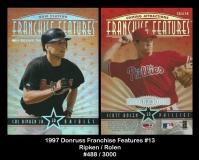 1997 Donruss Franchice Features #13