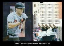 1997 Donruss Gold Press Proofs #121