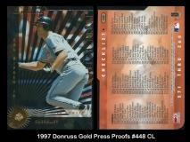 1997 Donruss Gold Press Proofs #448 CL