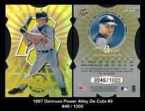 1997 Donruss Power Alley Die Cuts #3