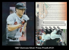 1997 Donruss Silver Press Proofs #121