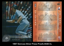 1997 Donruss Silver Press Proofs #448 CL
