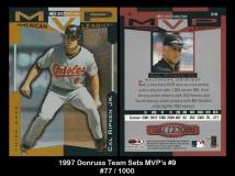 1997 Donruss Team Sets MVPs #9