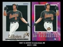 1997 E-X2000 Credentials #8