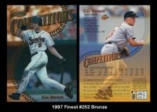 1997 Finest #252 Bronze