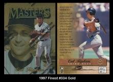 1997 Finest #334 Gold