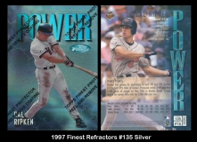 1997 Finest Refractors #135 Silver
