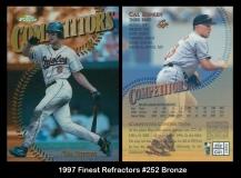 1997 Finest Refractors #252 Bronze