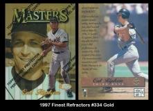 1997 Finest Refractors #334 Gold