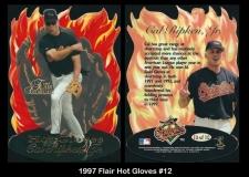 1997 Flair Hot Gloves #12