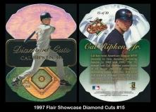 1997 Flair Showcase Diamond Cuts #15
