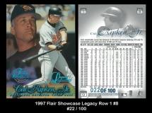 1997 Flair Showcase Legacy Row 1 #8