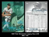 1997 Flair Showcase Legacy Row 2 #8