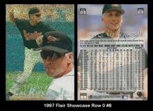 1997 Flair Showcase Row 0 #8