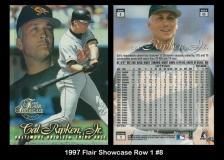 1997 Flair Showcase Row 1 #8